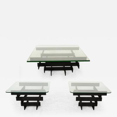 Paul Mayen Paul Mayen Coffee Table and Side Tables