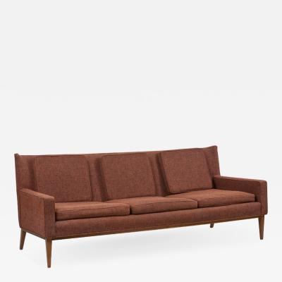 Paul McCobb 1307 Wingback Sofa by Paul McCobb for Directional Upholstery Needed US 1950s