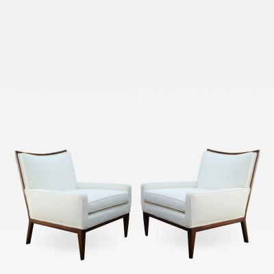 Paul McCobb 1950s Mid Century Modern Lounge Chairs Manner of Paul McCobb