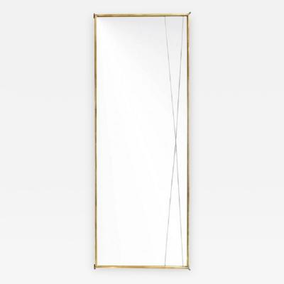 Paul McCobb Brass X Mirror by Paul McCobb for Bryce Originals 1956