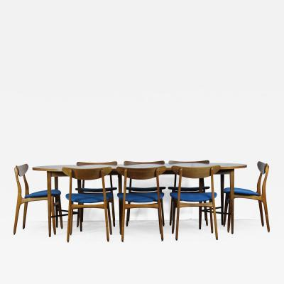 Paul McCobb Dining Table 8 Chairs