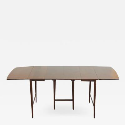 Paul McCobb Extendable Drop Leaf Maple Dining Table by Paul McCobb for Planner Group
