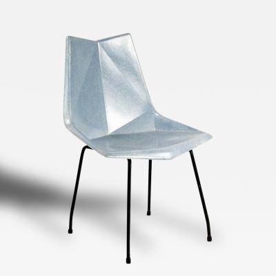 Paul McCobb Fiberglass Origami Chair by Paul McCobb