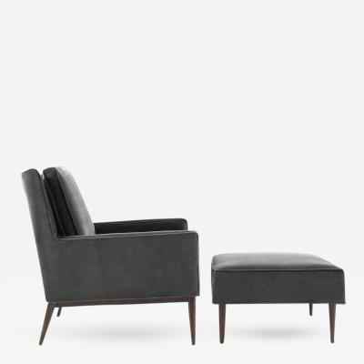 Paul McCobb Lounge Chair and Ottoman by Paul McCobb for Directional circa 1950s