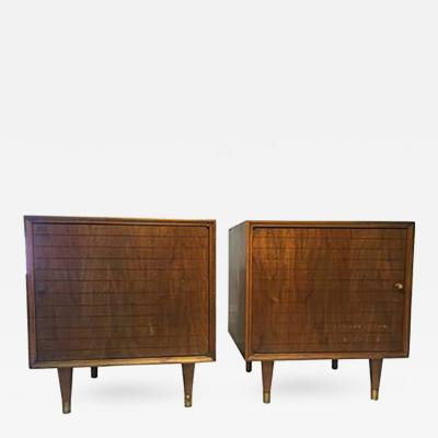 Paul McCobb Magnificent Pair of Nightstands in the manner of Paul McCobb Circa 1960