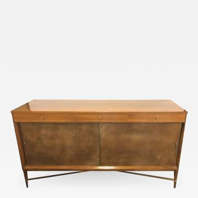 Paul McCobb Mid Century Modern Paul McCobb for Calvin Credenza Original Tags Polished