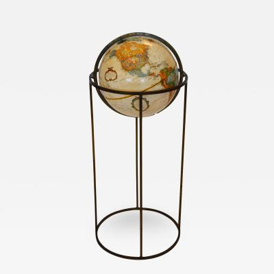 Paul McCobb Midcentury Globe on Brass Swivel Stand after Paul McCobb USA