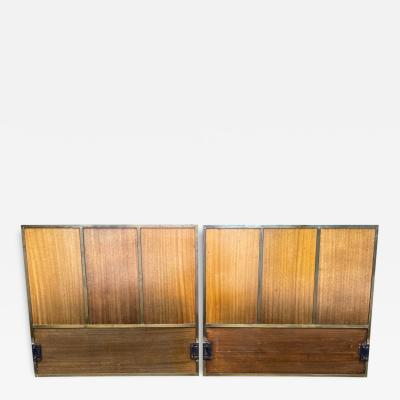Paul McCobb Pair American Midcentury Headboard Paul McCobb for Calvin