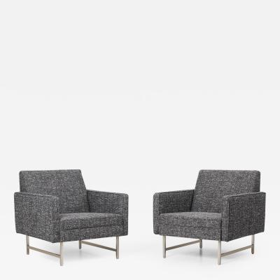 Paul McCobb Pair of Lounge Chairs by Paul McCobb for Directional WK M bel Germany 1960s