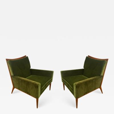Paul McCobb Pair of Paul MacCobb Lounge Chairs for Calvin 1950s