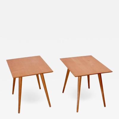 Paul McCobb Pair of Paul McCobb End Tables for Winchendon Planner Group Series