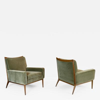 Paul McCobb Pair of Paul McCobb Lounge chairs for Calvin 1950s