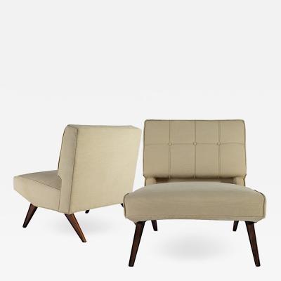 Paul McCobb Pair of Paul McCobb Slipper Chairs Model 1202