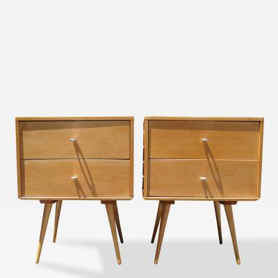 Paul McCobb Pair of Planner Group Nightstands by Paul McCobb for Winchendon Furniture