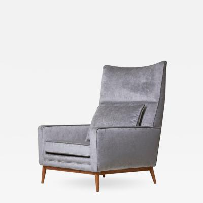 Paul McCobb Paul McCobb 314 Lounge Chair in Chase Erwin Velvet for Directional