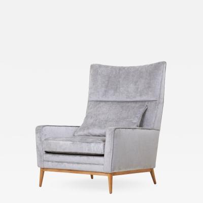 Paul McCobb Paul McCobb 314 Lounge Chair in Chase Erwin Velvet for Directional