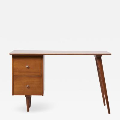 Paul McCobb Paul McCobb Desk for Planner Group in Solid Maple 1950s