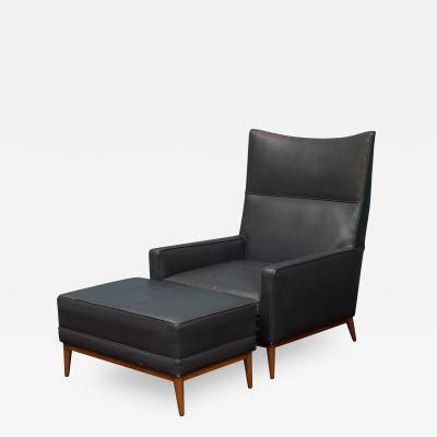 Paul McCobb Paul McCobb Large Lounge Chair and Ottoman Model 314