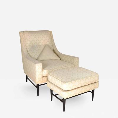 Paul McCobb Paul McCobb Lounge Chair and Ottoman