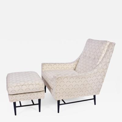 Paul McCobb Paul McCobb Lounge Chair and Ottoman 1960s