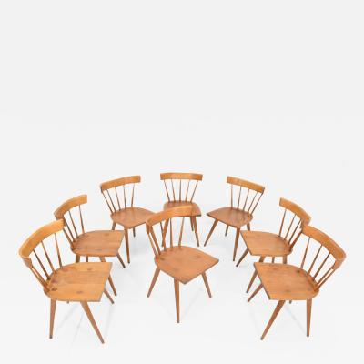 Paul McCobb Paul McCobb Planner Group Dining Chairs Set of Eight 1950s