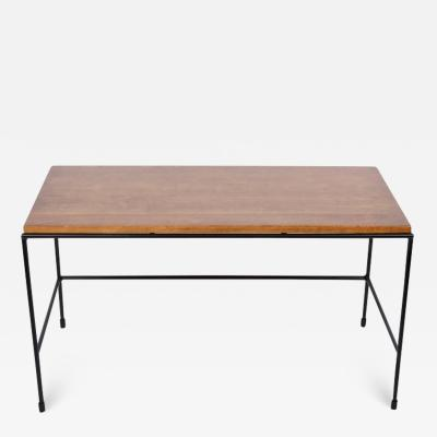 Paul McCobb Paul McCobb Planner Group Iron and Wood Bench Coffee Table 1950s