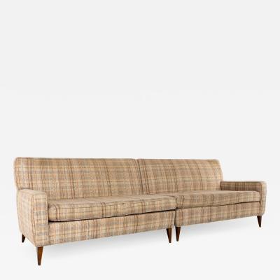 Paul McCobb Paul McCobb Planner Group Mid Century 2 Piece 4 Seater Sectional Sofa