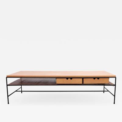 Paul McCobb Paul McCobb Planner Group Wrought Iron Coffee Table for Winchendon