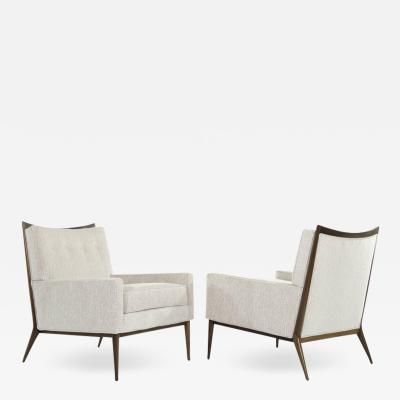 Paul McCobb Paul McCobb for Directional Lounge Chairs in Chenille