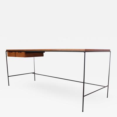 Paul McCobb Paul McCobb for Winchendon Maple and Iron Console Coffee Media Table