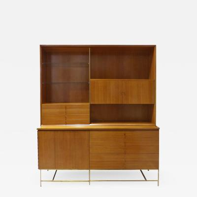 Paul McCobb Rare Mid Century Modern Breakfront by Paul McCobb for Calvin Furniture
