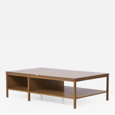 Paul McCobb Rare Paul McCobb Coffee Table with Leather Top for Calvin USA 1950s