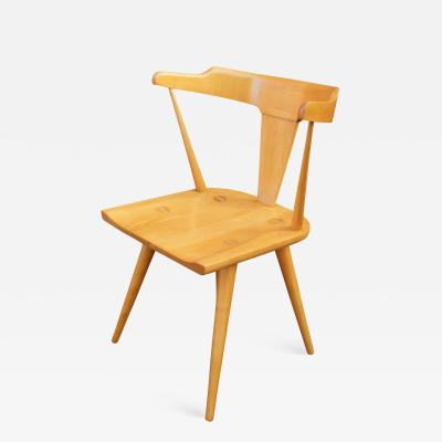 Paul McCobb Set of Four Maple T Back Dining Chairs by Paul McCobb for the Planner Group