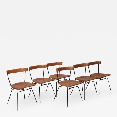Paul McCobb Set of Six Matched 1535 Paul McCobb Planner Group Dining Chairs for Winchendon