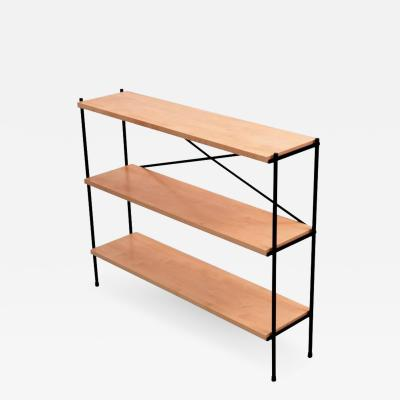Paul McCobb Small Wrought Iron Mid Century Shelf in the Manner of Paul McCobb