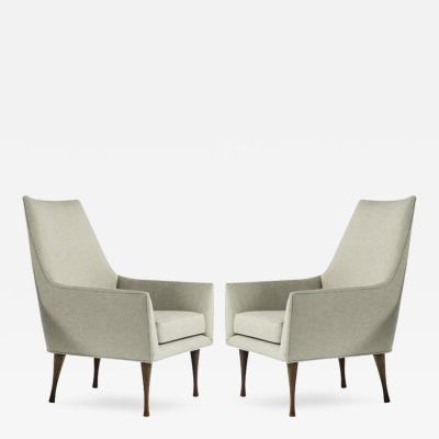 Paul McCobb Symmetric Group Lounge Chairs by Paul McCobb for Widdicomb