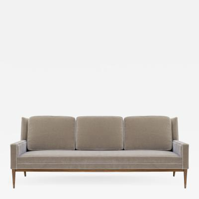 Paul McCobb Three Seat Model 1307 Sofa in Mohair by Paul McCobb for Directional