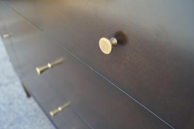 Paul McCobb Twenty Drawer Ebonized Dresser by Paul McCobb for Rapids Furniture