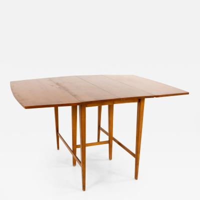 Paul McCobb for Planner Group Mid Century Drop Leaf Dining Table