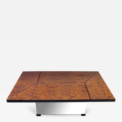 Paul Michel A Cleverly Designed French Metamorphic Table by Paul Michel