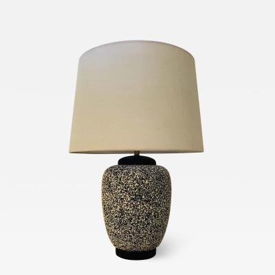 Paul Milet Paul Milet Sevres French Deco 1930s Table Lamp Jean Besnard