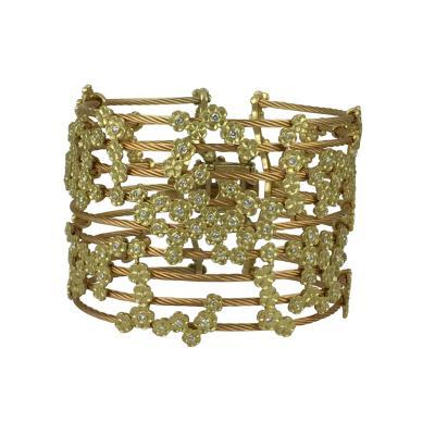 Paul Morelli Paul Morelli Hydrangea Cuff Bracelet