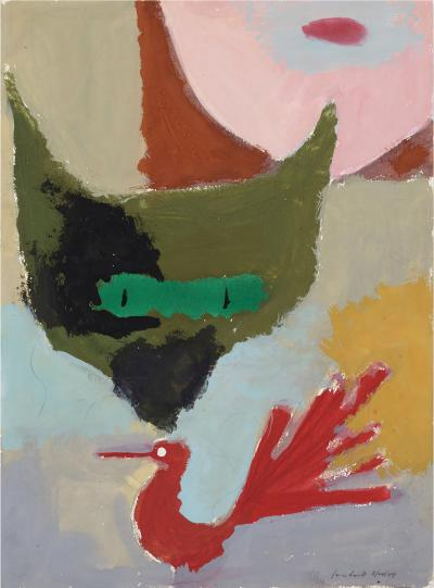Paul Rand Untitled Cat and Rooster
