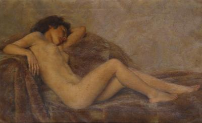 Paul Sieffert Reclining Nude