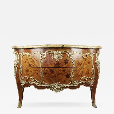 Paul Sormani A Napoleon III Bombe Commode