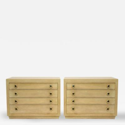 Paul T Frankl Pair of Chest of Drawers Paul Frankl