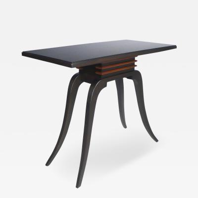 Paul T Frankl Paul Frankl Sabre Leg Console Table