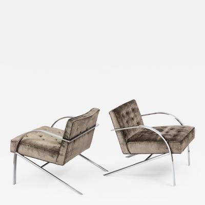 Paul Tuttle Paul Tuttle Arco Lounge Chairs
