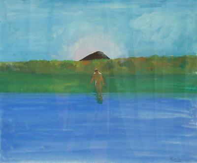 Paul Wonner Lake Nude Black Hill