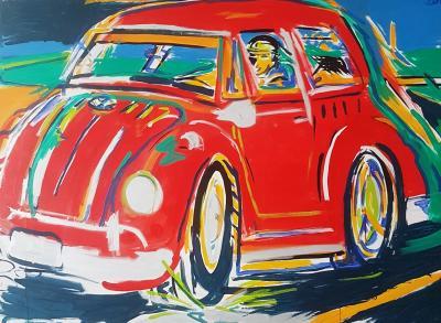 Paulo Mauricio Fusca on the Road